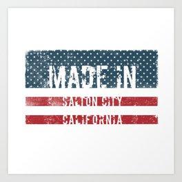 Made in Salton City, California Art Print