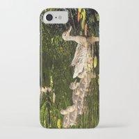 ducks iPhone & iPod Cases featuring Ducks by LudaNayvelt