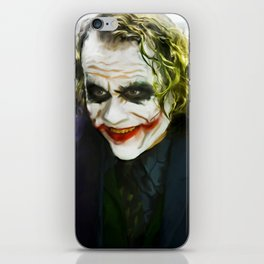 The Joker (TDK) Digital Painting  iPhone Skin