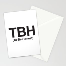 TBH (To-Be-Honest) Stationery Cards