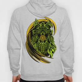 WOLF ETNIC CONTEMPORARY ART Hoody
