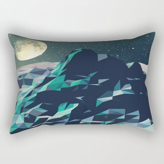 Night Mountains No. 2 Rectangular Pillow
