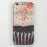 cupcake iPhone & iPod Skins featuring cupcake by Beverly LeFevre