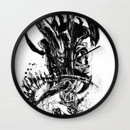 Intergalactic Evil Wall Clock