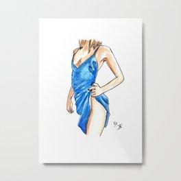Femme 15 Metal Print