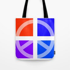 Peace Abstract 3 Tote Bag