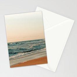 Ocean Orange Stationery Cards