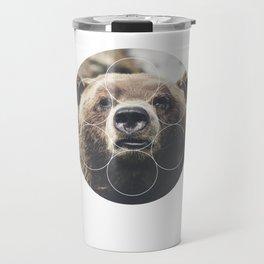 Big Bear Buddy - Geometric Photography Travel Mug