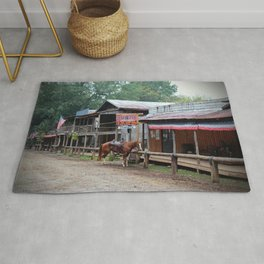 One Horse Town Rug