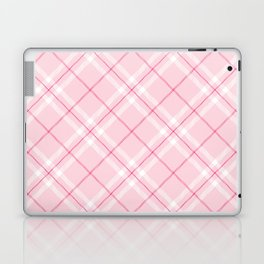 Blush Pink Plaid Laptop & iPad Skin