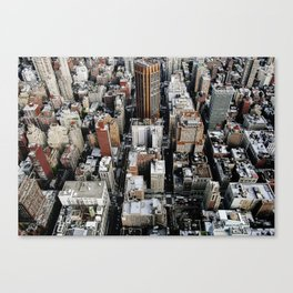 Empire State View 1. Canvas Print