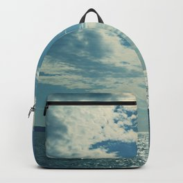 Santorini, Greece 17 Backpack