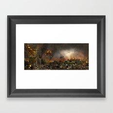 Apocalypse Leeds Framed Art Print