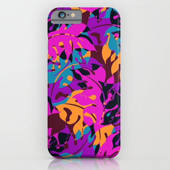 Falling Leaves iPhone & iPod Case