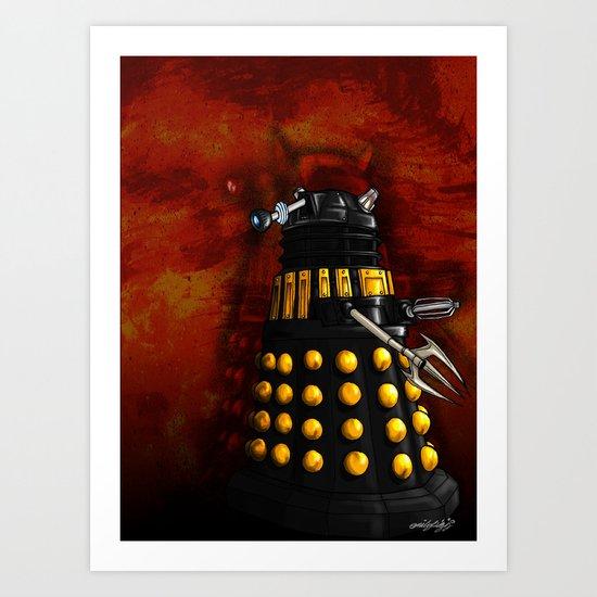 The Dalek Inquisitor General Art Print
