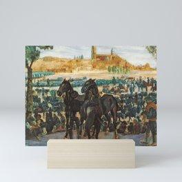 Francisco Iturrino Cattle Fair in Salamanca c. 1898 Mini Art Print