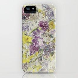 Soft Vintage Floral  iPhone Case
