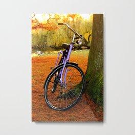 Vondelpark in the Fall pt 2 Metal Print