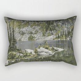 Mount Revelstoke National Park Rectangular Pillow