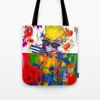 miley Tote Bags featuring Miley Montana by adorabriah