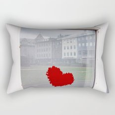 found heart Rectangular Pillow