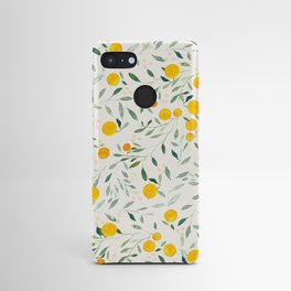 Oranges and Leaves Android Case