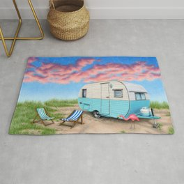 The Happy Camper Rug