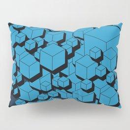 3D Futuristic Cubes VIII Pillow Sham