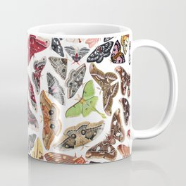 Saturniid Moths of North America Pattern Coffee Mug