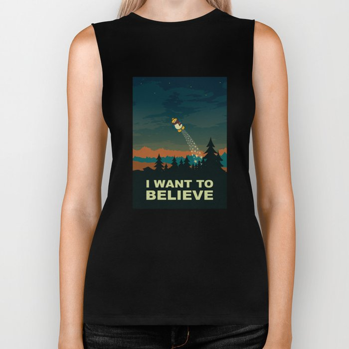 I want to believe Biker Tank
