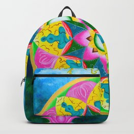 Mandala of Green Tara Backpack