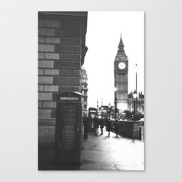 Big Ben and Phone booth Canvas Print
