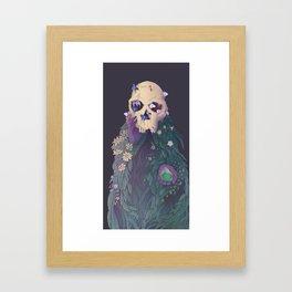 Ancestor Series- Habilis with Biface Framed Art Print