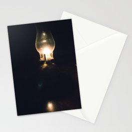 By Oil Lamp Stationery Cards