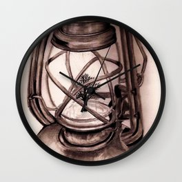 Trees Please: Original Graphite Wall Clock