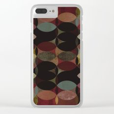 Circles V Clear iPhone Case