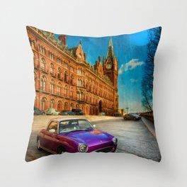 St. Pancras London Throw Pillow