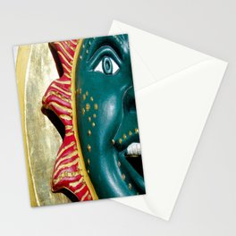 The face of the sun Stationery Cards