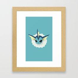 Eevolution: Droplet Framed Art Print