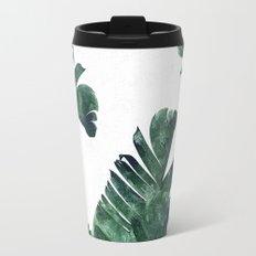 Banana Leaf Watercolor #society6 #buy #decor Travel Mug