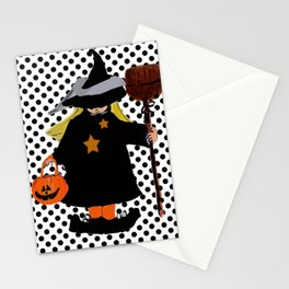 My Little Witch, Halloween Costume Stationery Cards