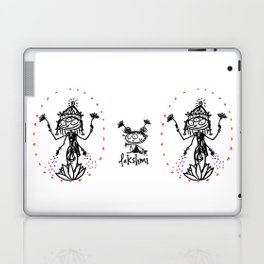 Lakshmi: Goddess of Abundance Laptop & iPad Skin