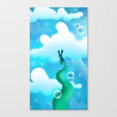 Beanstalk Bunny Canvas Print
