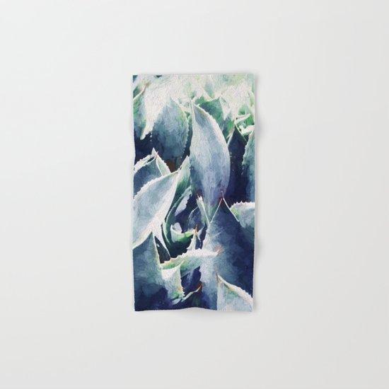 Cactus Garden #society6 #deco3 buyart Hand & Bath Towel