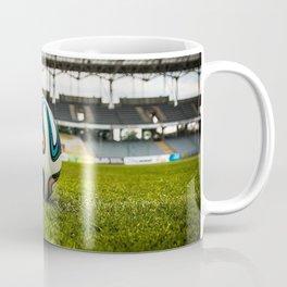 Soccer Ball Field Coffee Mug