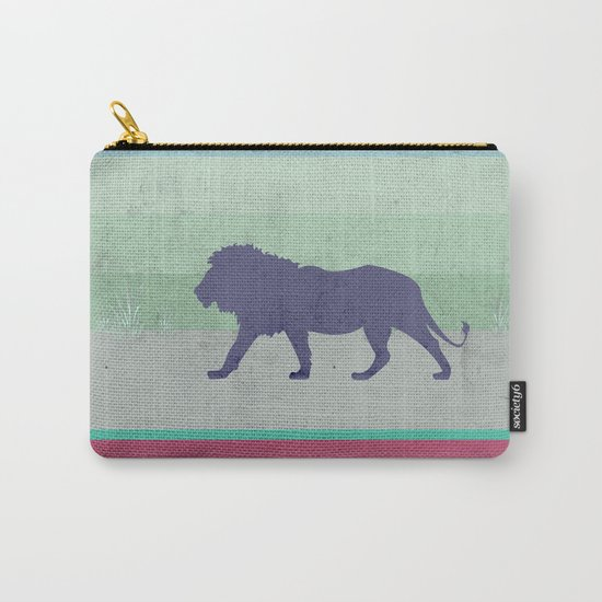 Lions are big kitties  Carry-All Pouch
