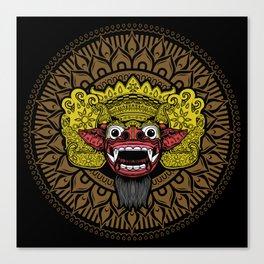 balinese barong Canvas Print
