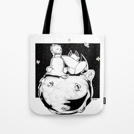 See with your heart Tote Bag