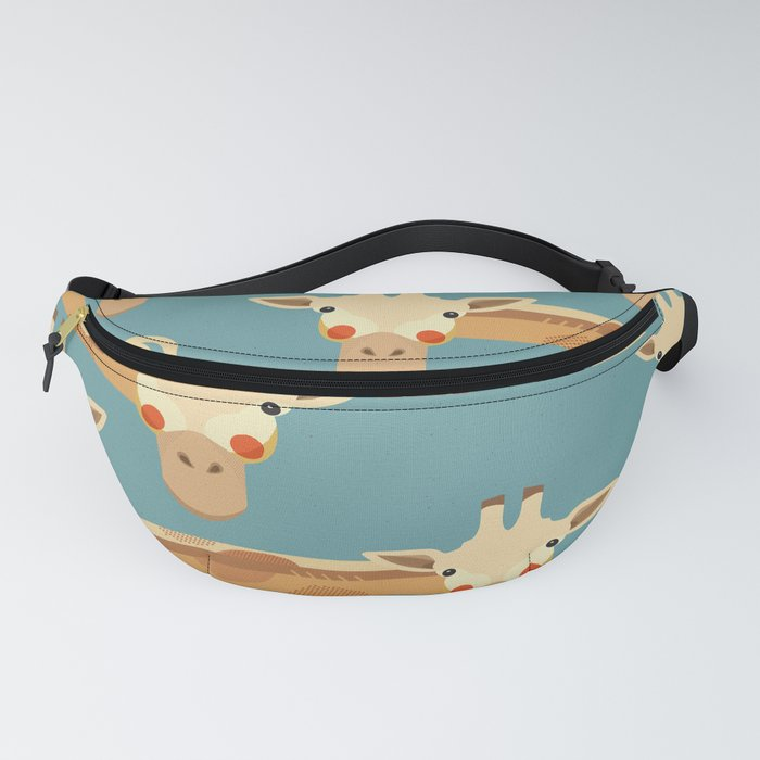Giraffe, Animal Portrait Fanny Pack