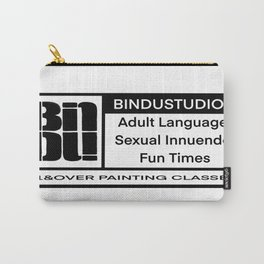 Rated BINDU  Carry-All Pouch